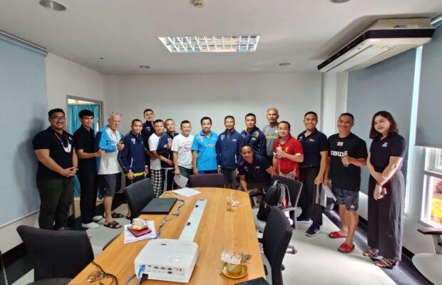 อบรมการใช้โปรแกรมการวิเคราะห์ IWSportAnalytic ให้กับผู้ฝึกสอนนักชกทีมชาติไทย